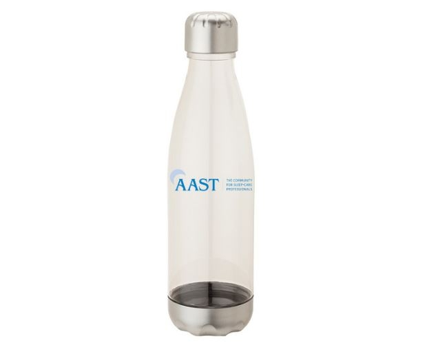 Screw Top AAST Water Bottle - Clear