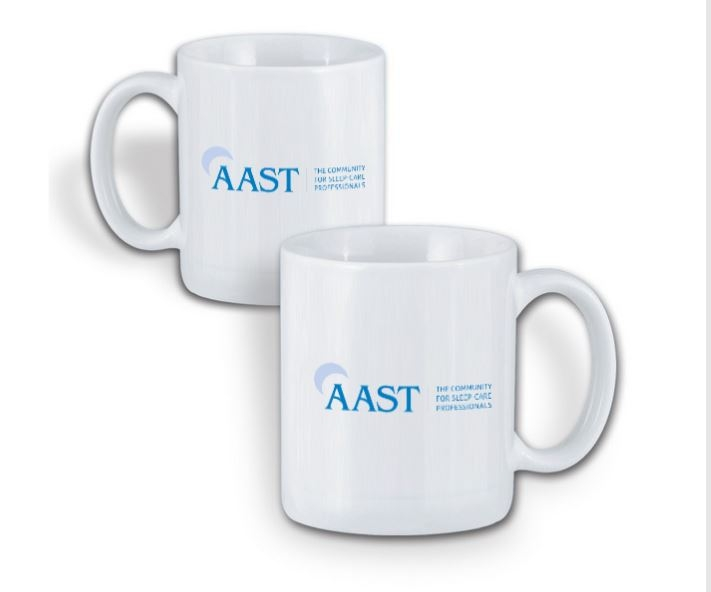 Ceramic AAST Coffee Mug - White